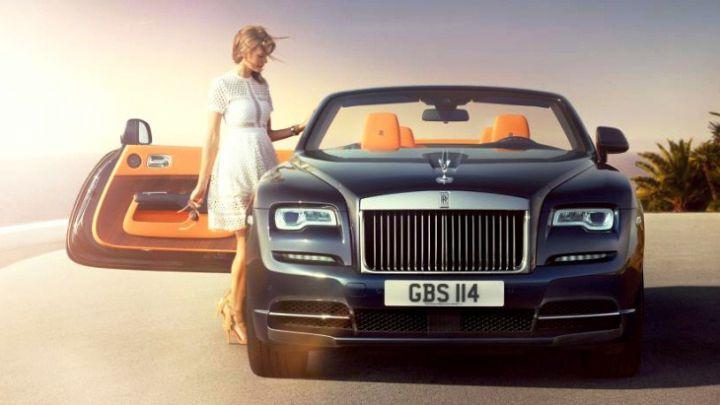 Во Франкфурте Rolls-Royce покажет шикарный кабриолет Dawn