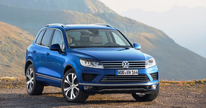 Volkswagen Touareg до осени подешевел на 125 тысяч