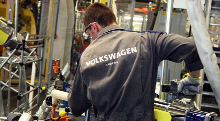 Volkswagen запустил производство двигателей в России