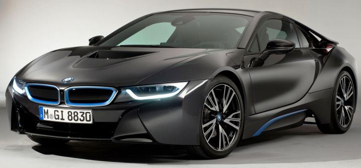 Заказы на BMW i8 приняли на полтора года вперед
