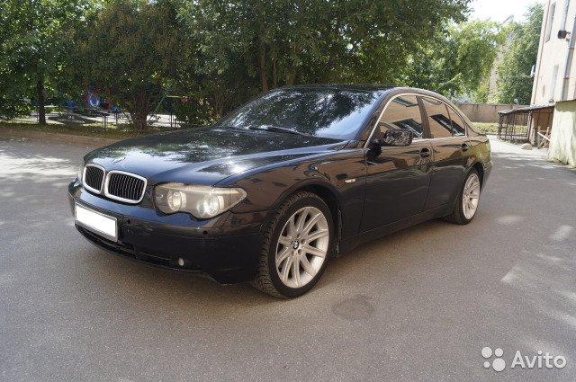 Срочный выкуп авто BMW/7 серия  '2002