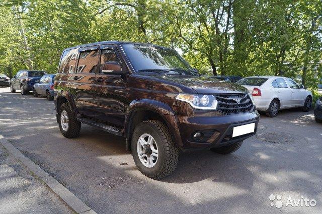 Срочный выкуп авто UAZ/Patriot  '2016