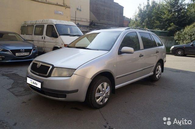 Срочный выкуп авто Skoda/Fabia  '2003